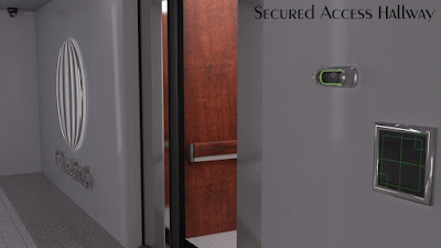 Secured Access Hallway