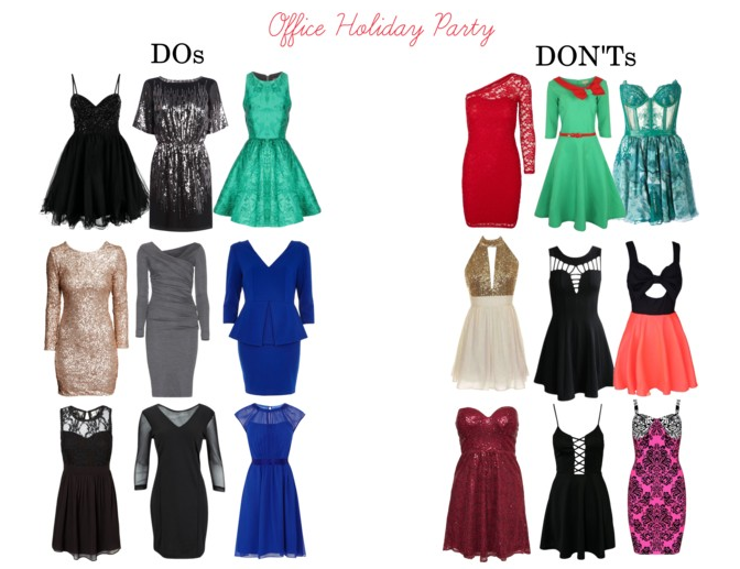 8dc37ddf1f3 Many offices have holiday parties that are cocktail or dressy attire. These  guidelines apply to those. (If you are one of the awesome offices that has  a ...