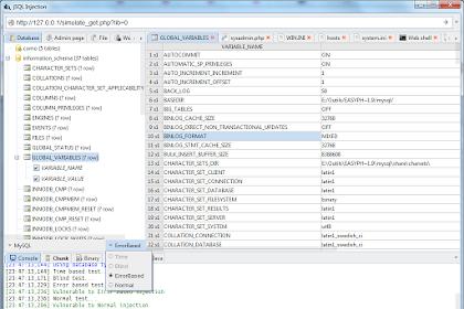 jSQL Injection v0.77 - Java application for automatic SQL database injection