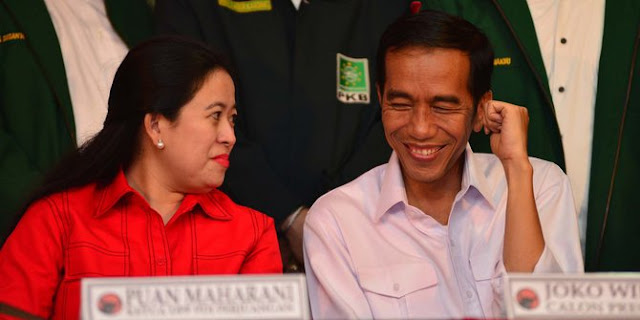 Jika Ada Bukti, Jokowi Persilahkan Puan Diproses