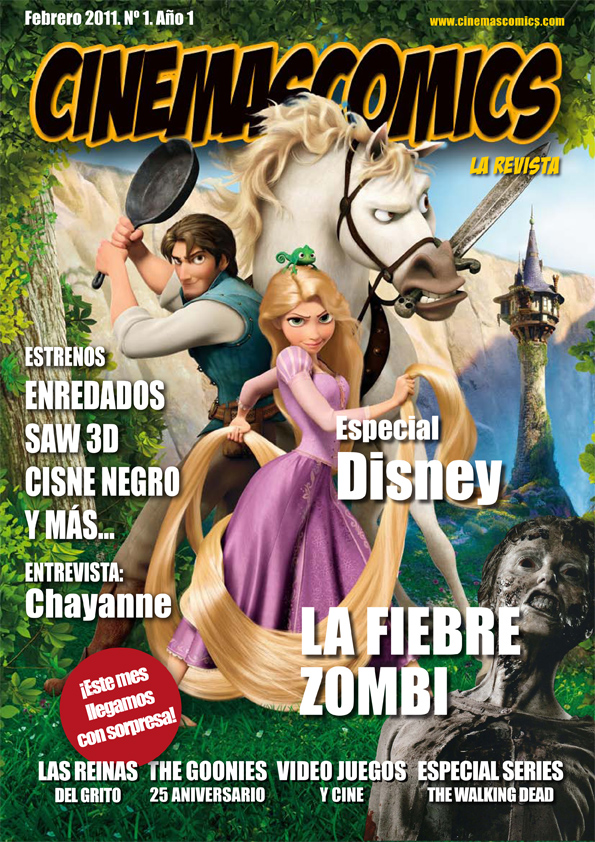 Portada Cinemascomics La revista