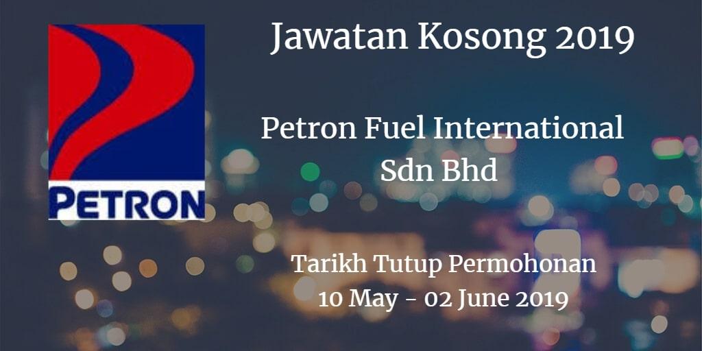 Jawatan Kosong Petron Fuel International Sdn Bhd 10 May - 02 June 2019Jawatan Kosong Petron Fuel International Sdn Bhd 10 May - 02 June 2019
