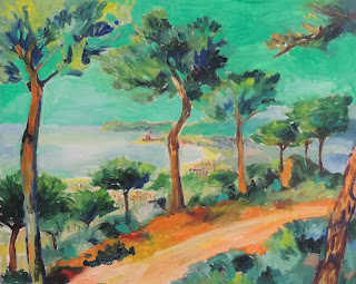 Pascó i Ticó pintor catalán expresionista paisatge maresme