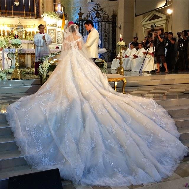 marian rivera wedding dress