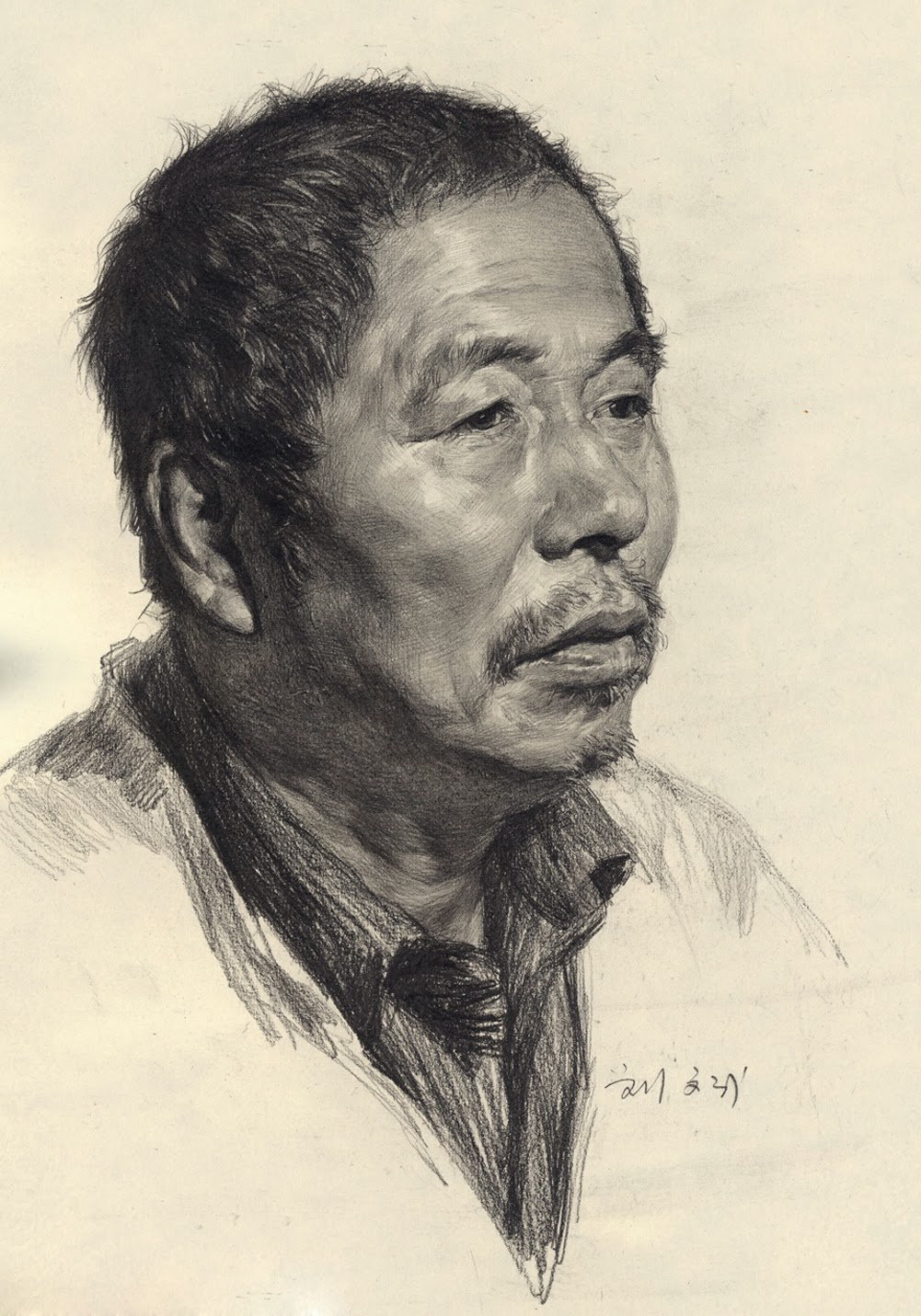 Portrait Drawing with Pencil - How To Draw Library