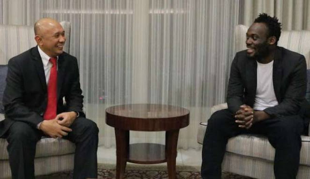 Kepala Staf Presiden Undang Essien ke Istana Negara