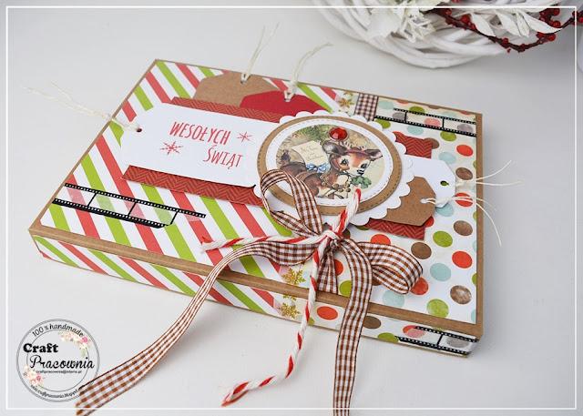 pudełko na świąteczne zdjęcia