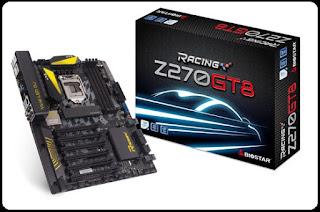 Spesifikasi Motherboard Biostar Z270GT8