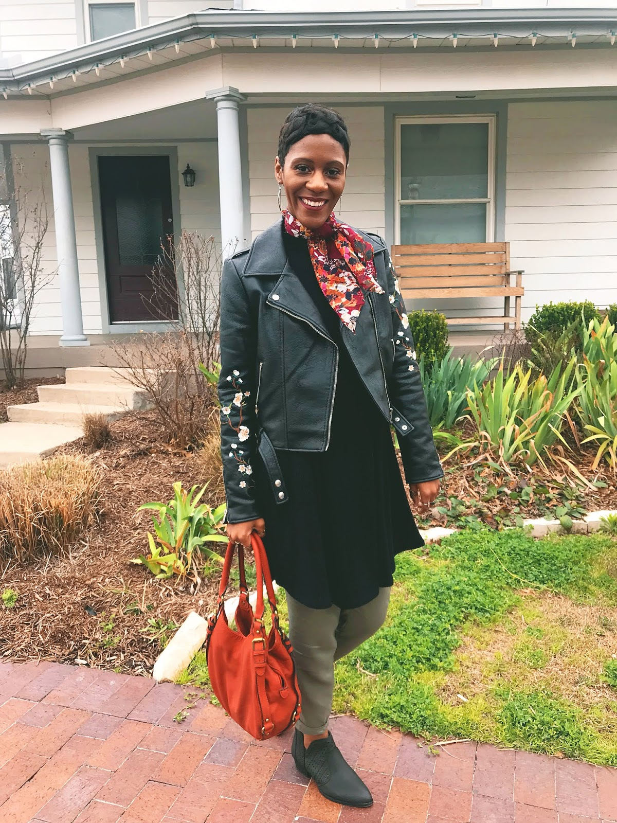 Quick OOTD: Scarves, Booties & More!