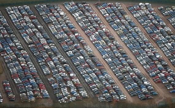 Donde terminan los autos no vendidos