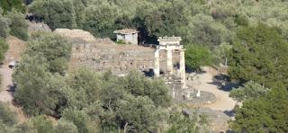 Ruinas de Delfos. Vistas desde el Monte Parnassos.
