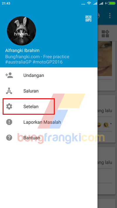 Cara Menonaktifkan BBM di Android Sementara