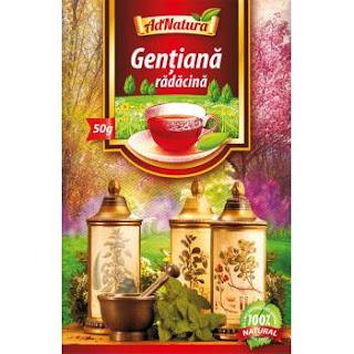 Tratament sinuzita – ceai gentiana
