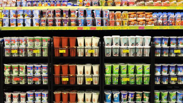yogur búlgaro Bulgaria supermercado