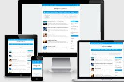 Download Nubie Fast  Responsive Blogger Template Blue Version Redesign