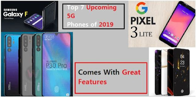 top 5 upcoming-5g-phones-of-2019