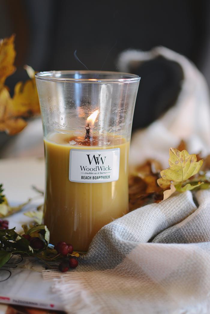 Wood Wick świeca