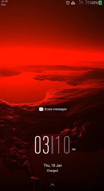 Red Impulse Theme for EMUI 5