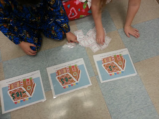 plural nouns- Holly Jolly Holiday Centers in Action