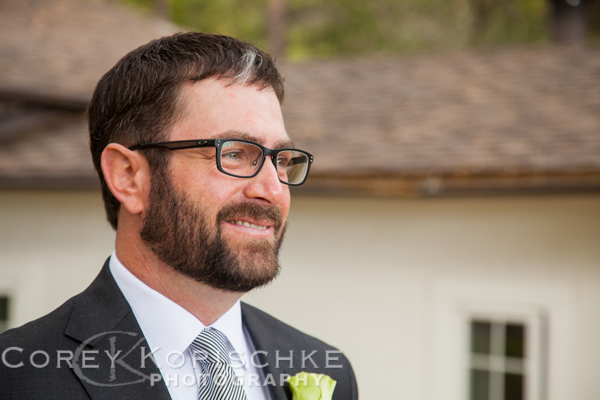Todd the handsome groom - Wedding Photographer Corey Kopsichke