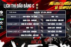 AoE LungCleanser Hà Nội Open 9: Lịch thi đấu vòng bảng 2vs2 random