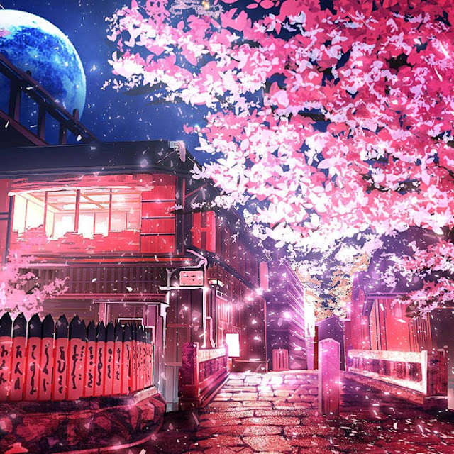 Cherry Tree Wallpaper Engine