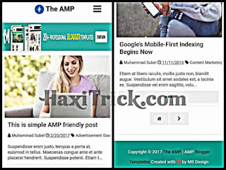 theamp free blogger template download