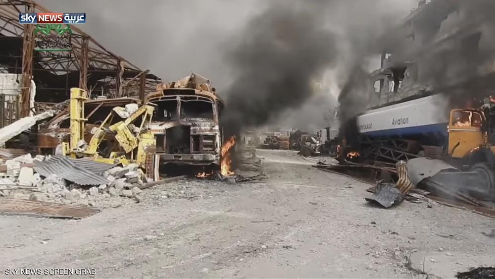 خطر المجاعة يهدد المواطنين شرق العاصمة السورية دمشق بسبب الاشتباكات