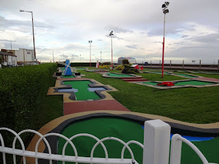 The Arnold Palmer Putting Course in Southend-on-Sea