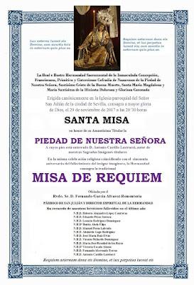 [La Hiniesta] Misa de Requiem y convocatoria de Cabildo General Extraordinario 1