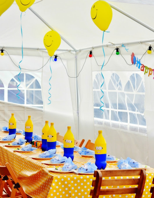 Minions Birthday Party Inspiration