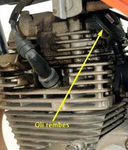 silinder head bocor