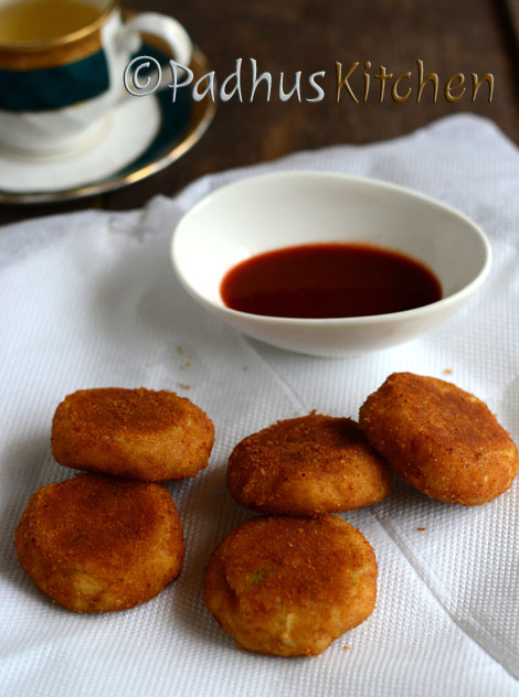 Paneer Cutlet Recipe-Bread Paneer Cutlet