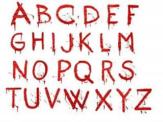 Letras de sangre