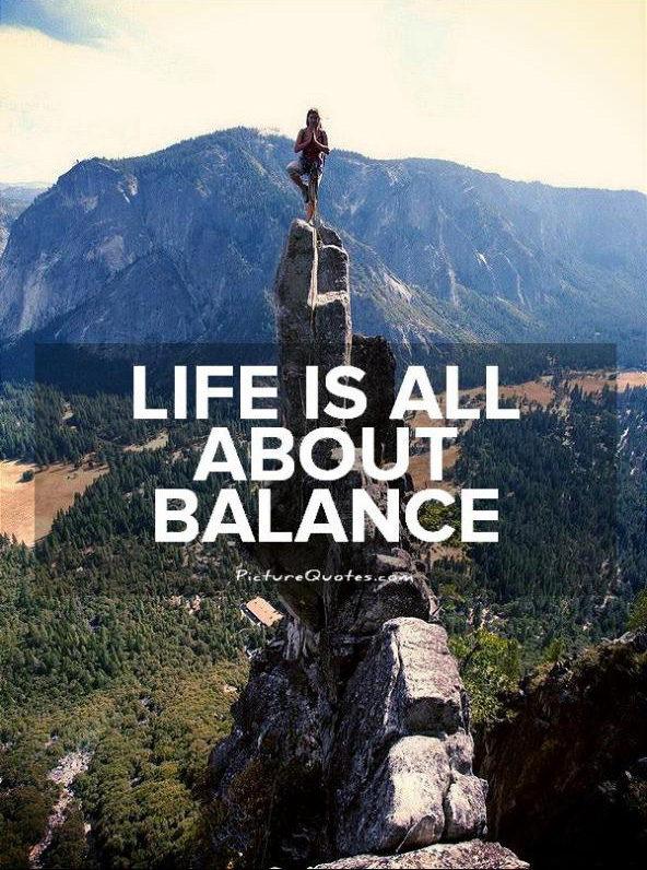 Yoga life balance quotes captions