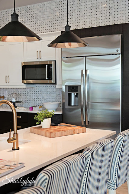 The breakfast bar in the kitchen of the HGTV Dream Home 2016.
