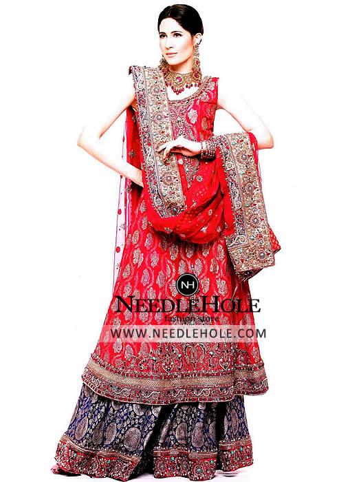 291db1d7ed Optimum bridal sharara dress online for bride by designer deepak perwani.  Tailor yourself terrifically in