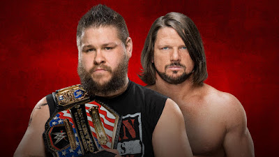 United States Champion Kevin Owens vs. AJ Styles