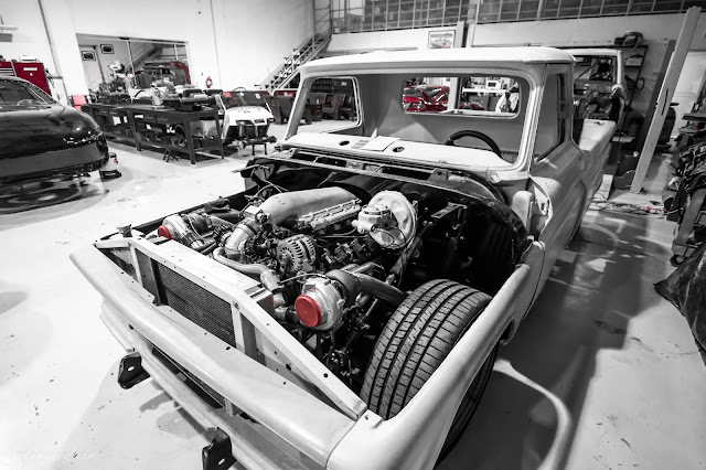 '65 Chevrolet C10 V8 resurrection begins in Al Anabi Racing Garage