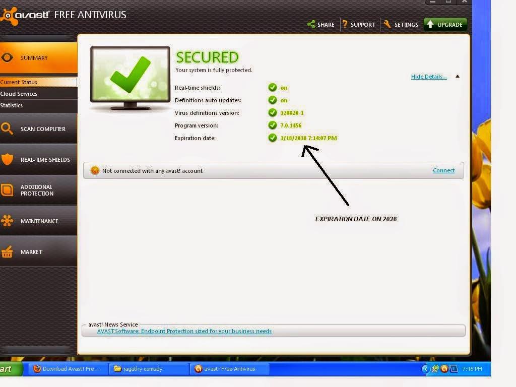 PC software: AVAST ANTIVIRUS 2012 WITH SERIAL KEY FREE ...