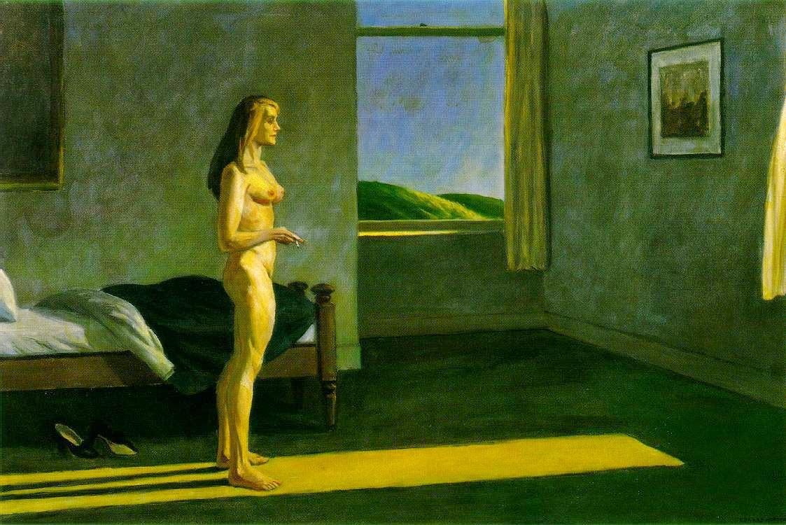 Uma Mulher ao Sol - Edward Hopper e suas principais pinturas ~ O pintor da solidão