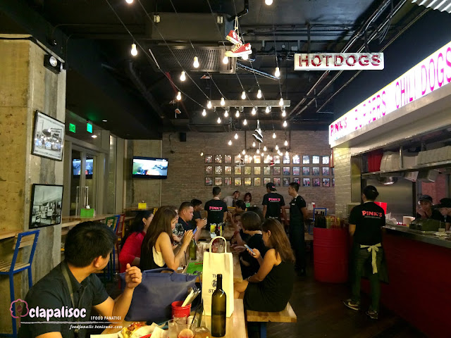 Pink's Hot Dogs Manila Restaurant details