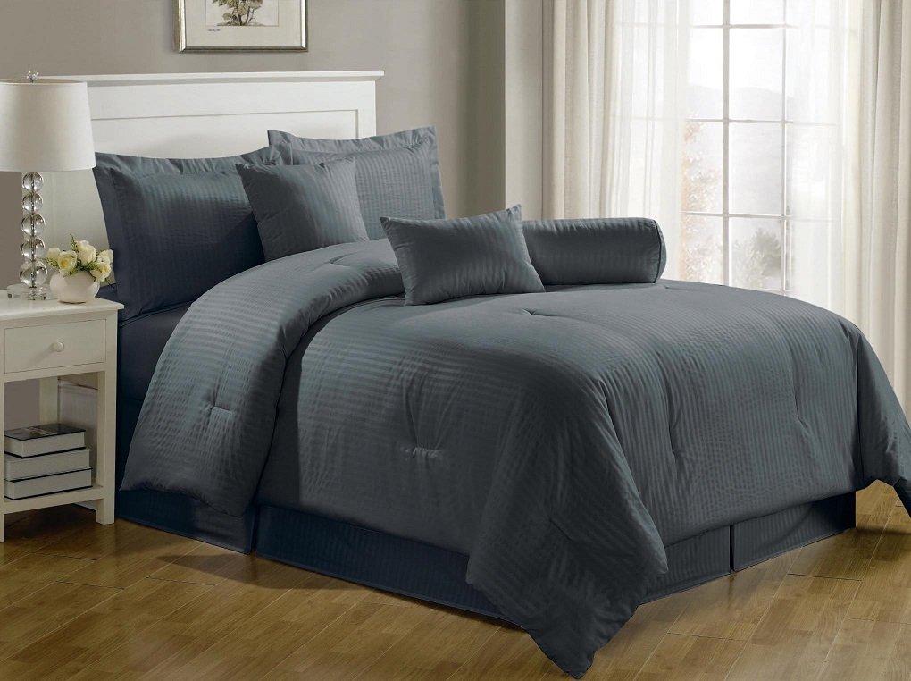 Charcoal Grey Comforter & Bedding Sets