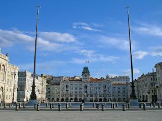 Piazza Unità d'Italia is Trieste's main square