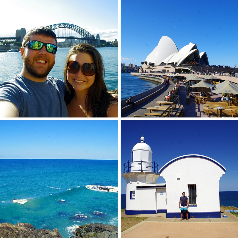Aussie flashpacker in Australia