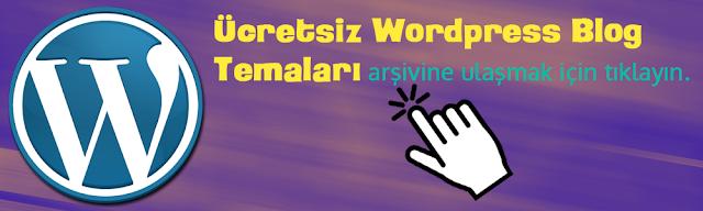 Bedava Wordpress Temaları
