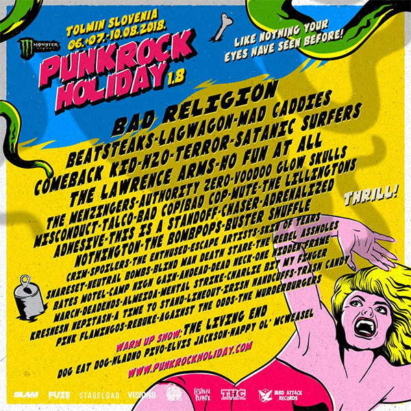 Punk Rock Holiday 1.8 lineup announced