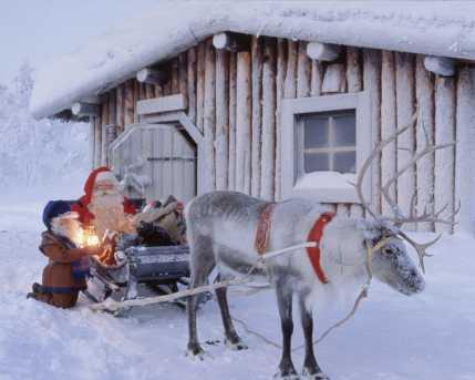 Polo Nord Di Babbo Natale.La Casa Di Babbo Natale Non E Solo A Rovaniemi Ma Anche A