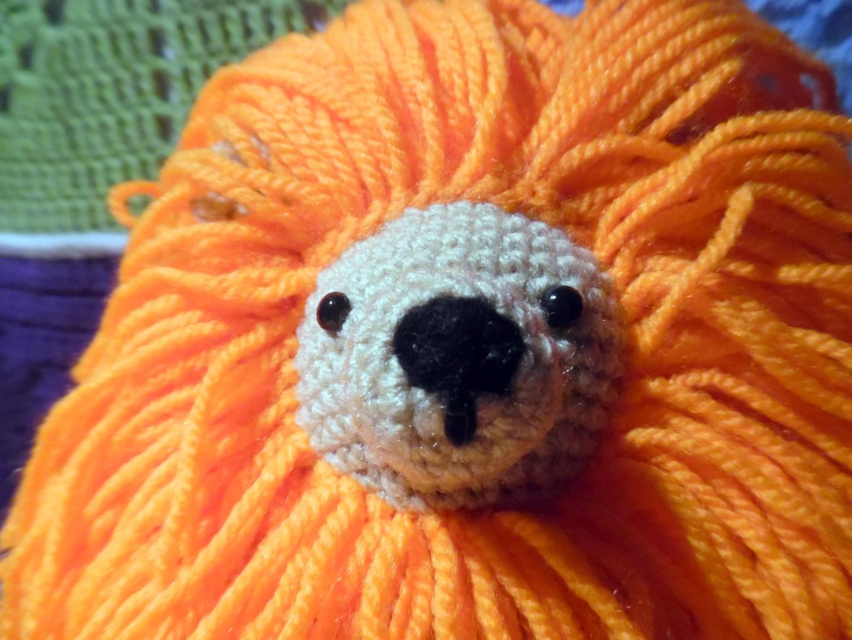 Little Amigurumi Lion : Amvabe crochet dutch lion amigurumi with pants