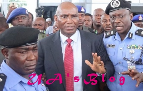 Mace Theft: Police Speak On The Arrest Of Omo-Agege